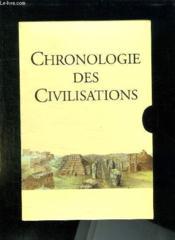 Chronologie Des Civilisations. - Couverture - Format classique