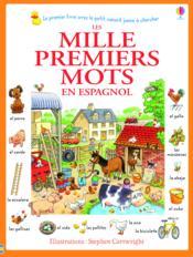 Les mille premiers mots en espagnol - Couverture - Format classique