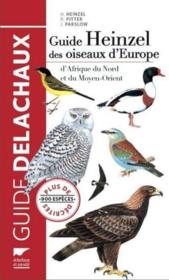 Guide Heinzel des oiseaux d'Europe  - John Parslow - Richard Fitter - Hermann Heinzel