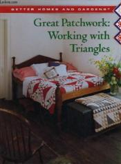 Great Patchwork : Working With Triangles - Couverture - Format classique