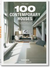 Vente livre :  100 contemporary houses  - Collectif