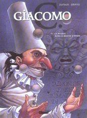 Giacomo C. t.1 ; le masque dans la bouche d'ombre - Intérieur - Format classique