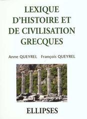 Lexique D'Histoire Et De Civilisation Grecques - Intérieur - Format classique