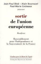 Sortir de l'union européenne - Intérieur - Format classique