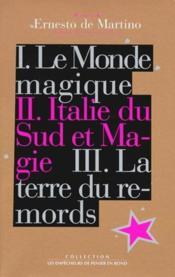 Oeuvres t.2 ; Italie du Sud et magie - Couverture - Format classique