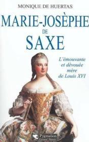 Marie-Josephe De Saxe - Couverture - Format classique