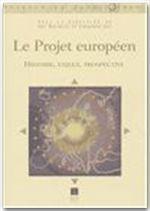 Le projet européen - Couverture - Format classique