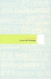Le Jour De L'Archange - Couverture - Format classique