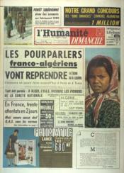 Humanite Dimanche (L') N°706 du 04/03/1962 - Couverture - Format classique