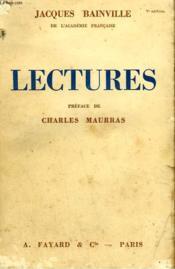 Lectures. - Couverture - Format classique