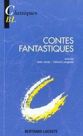 Contes fantastiques - Intérieur - Format classique