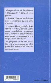 Contes fantastiques - 4ème de couverture - Format classique
