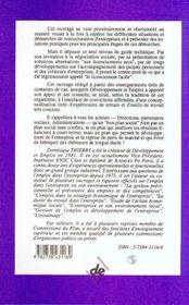 Restructurations Et Reconversions - 4ème de couverture - Format classique