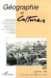 Geographie Et Cultures 25 - Couverture - Format classique