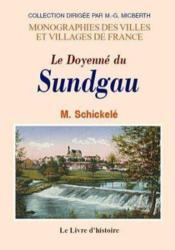 Sundgau (Histoire Des Paroisses Du) - Couverture - Format classique