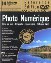 Photo numerique avec dvd - Intérieur - Format classique