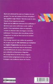 Vocabulaire français ; trouver et choisir le mot juste (16e édition) - 4ème de couverture - Format classique