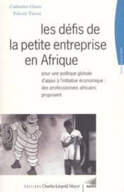 Defis De La Petite Entreprise En Afrique (Les) - Couverture - Format classique