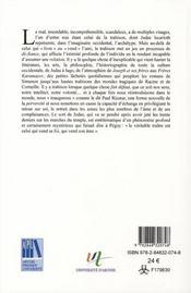 Figure du traite representations de la trahison dans l imaginaire des lettres eu - 4ème de couverture - Format classique