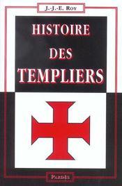 Histoire des Templiers - Intérieur - Format classique