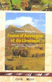 Faune D'Auvergne Et Du Limousin - Intérieur - Format classique
