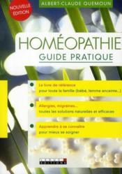 Homéopathie, le guide pratique