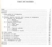 Biodégradation et humification - Intérieur - Format classique