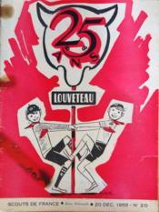 Louveteau N°20 du 20/12/1955 - Couverture - Format classique
