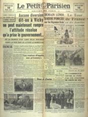 Petit Parisien Edition De Paris (Le) du 18/05/1941 - Couverture - Format classique