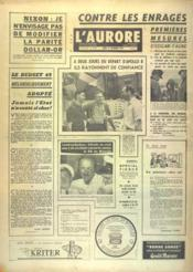 Aurore (L') N°7559 du 19/12/1968 - Couverture - Format classique