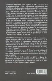 Paris Des Surrealistes (Le ) - 4ème de couverture - Format classique