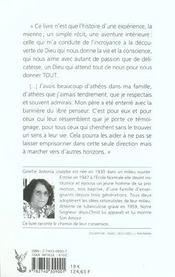 Il A Ouvert La Porte De Ma Maison - 4ème de couverture - Format classique