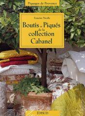 Boutis et piqués de la collection Cabanel - Intérieur - Format classique