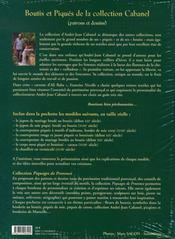 Boutis et piqués de la collection Cabanel - 4ème de couverture - Format classique