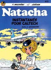Natacha t.8 ; instantanés pour Caltech - Couverture - Format classique