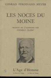 Les Noces Du Moine - Couverture - Format classique