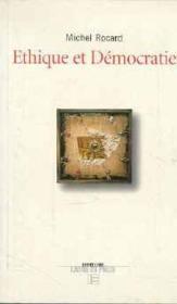 Ethique Et Democratie - Couverture - Format classique