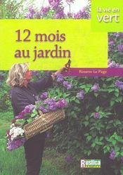 12 mois au jardin - Intérieur - Format classique