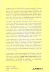 La gestion des droits de l'homme - 4ème de couverture - Format classique