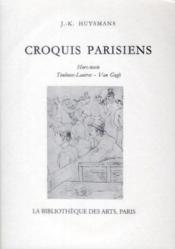 Croquis Parisiens - Couverture - Format classique