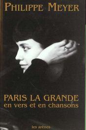 Paris la grande - Intérieur - Format classique