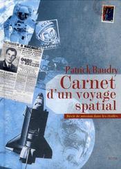 Carnet d'un voyage spatial ; récit de missions dans les étoiles - Intérieur - Format classique