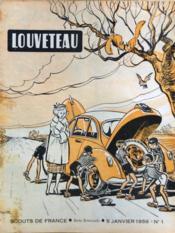 Louveteau N°1 du 05/01/1956 - Couverture - Format classique