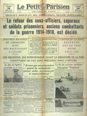 Petit Parisien Edition De Paris (Le) du 20/05/1941 - Couverture - Format classique