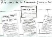 Affiche Contenant Des Affiches De La Commune De Paris. Mars Et Avril. - Couverture - Format classique