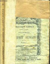 Esquisse D'Un Tableau Historique Des Progres De L'Esprit Humain - Tome Premier + Tome Second. - Couverture - Format classique