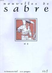Nouvelles De Sabre Numero 1 - Couverture - Format classique