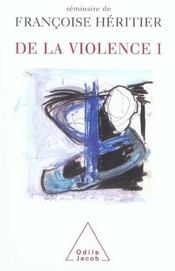 De la violence t.1 - Intérieur - Format classique