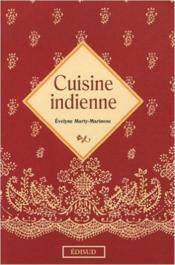 Cuisine indienne - Couverture - Format classique