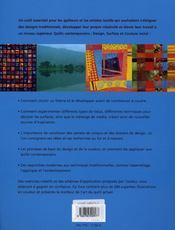 Quilts Contemporains - 4ème de couverture - Format classique